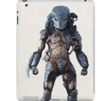 predator in oil iPad Case/Skin