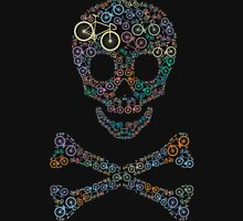 Bike skull multicolored Unisex T-Shirt