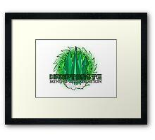 Kryptonite Mining Corporation Framed Print