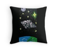 General Zod Day of the Dead Throw Pillow