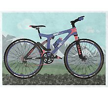 Mountain Bike Photographic Print