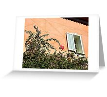 Bougainvillea On Cap Ferrat Greeting Card