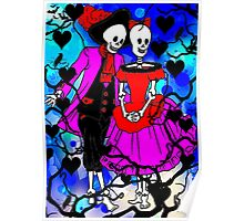 Day of the dead love Poster