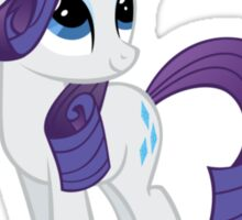 "Rarity ""One Day Ill Be Glue"" Sticker"