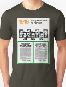 1916 EASTER RISING PROCLAMATION T-Shirt
