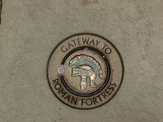 Gateway to Roman Fortress by PMJCards