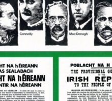 1916 EASTER RISING PROCLAMATION Sticker