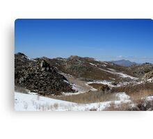 Peterson Mountain,Cold Springs,Reno,Nevada USA Canvas Print