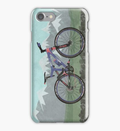 Mountain Bike iPhone Case/Skin