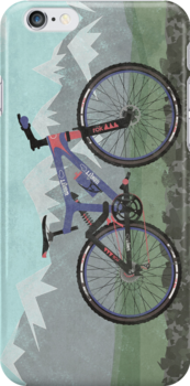 Mountain Bike by Andy Scullion