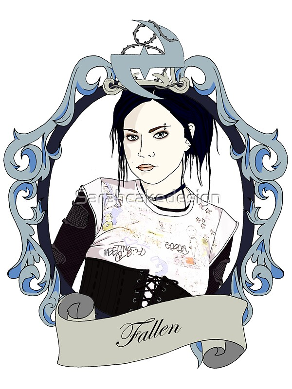 Quot Amy Lee Of Evanescence Fallen Era T Shirt Quot Stickers By