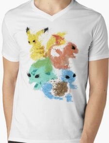 Starters Mens V-Neck T-Shirt