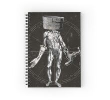 Anatomy of Self Spiral Notebook
