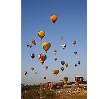 Great Reno Balloon Race,Reno Nevada USA Photographic Print