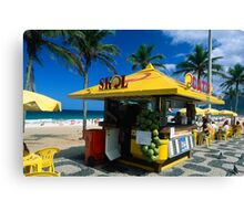 Kiosk of Ipanema Canvas Print