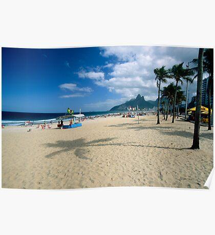 Ipanema Beach View  Poster