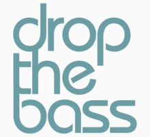 Drop The Bass (cyan) by DropBass