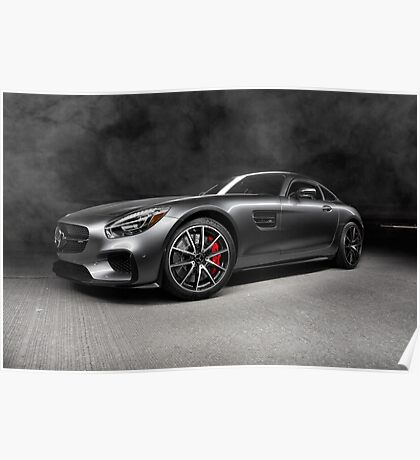 2016 Mercedes AMG GTS Poster