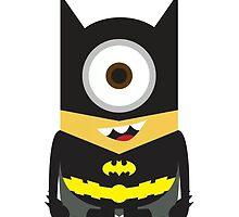 Despicable Me Minion Superheroes Batman by dorothy w Jones