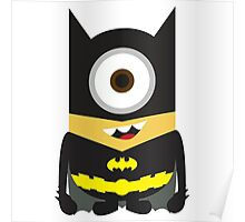 Despicable Me Minion Superheroes Batman Poster
