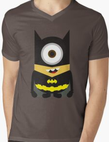 Despicable Me Minion Superheroes Batman Mens V-Neck T-Shirt
