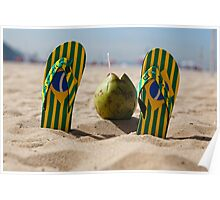 Copacabana Beach Feeling Poster