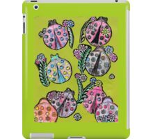 Lovely LadyBugs iPad Case/Skin