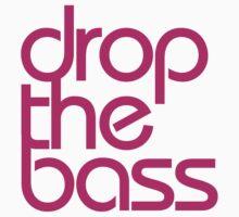 Drop The Bass (magenta) Kids Clothes