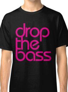 Drop The Bass (magenta) Classic T-Shirt