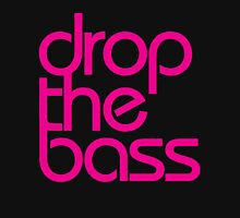 Drop The Bass (magenta) Womens Fitted T-Shirt