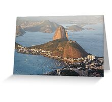 Sugarloaf from Above Greeting Card