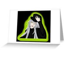 Undertaker - Black Butler - Fan Art Greeting Card