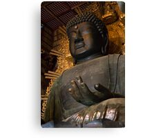 Todaiji Buddha Canvas Print