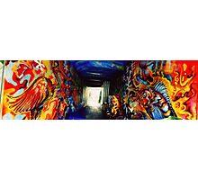 Graffiti Tunnel Photographic Print