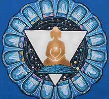 Buddha : Throat Chakra  by danita clark