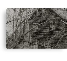 West Point on the Eno river mill, Durham, NC Canvas Print