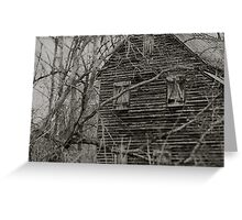 West Point on the Eno river mill, Durham, NC Greeting Card