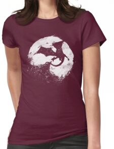 Midnight Desolation Womens Fitted T-Shirt