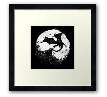 Midnight Desolation Framed Print