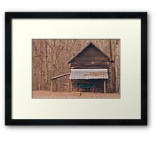 West Point on the Eno Park, Durham, NC Framed Print