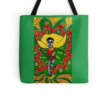 Robin Day of the Dead Tote Bag