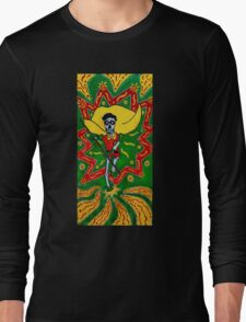 Robin Day of the Dead Long Sleeve T-Shirt