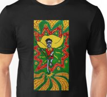 Robin Day of the Dead Unisex T-Shirt
