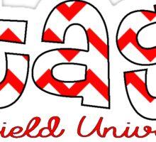 Fairfield University- Stags Sticker