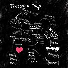 Treasure map by CatchyLittleArt