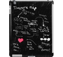 Treasure map iPad Case/Skin