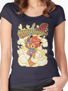 Thundermouse Hooooo Women's Fitted Scoop T-Shirt