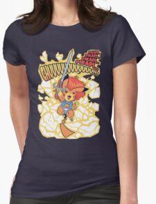Thundermouse Hooooo Womens Fitted T-Shirt