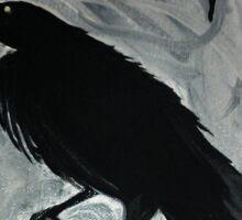 cave raven Sticker