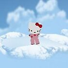 hello kitty on cloud nine by LokiLaufeysen